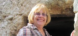 Mary Craig at Jesus' open tomb
